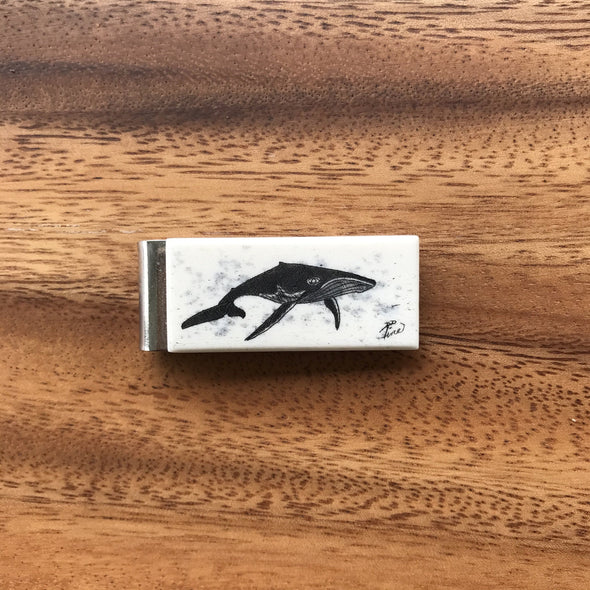 Scrimshaw Slim Money Clip