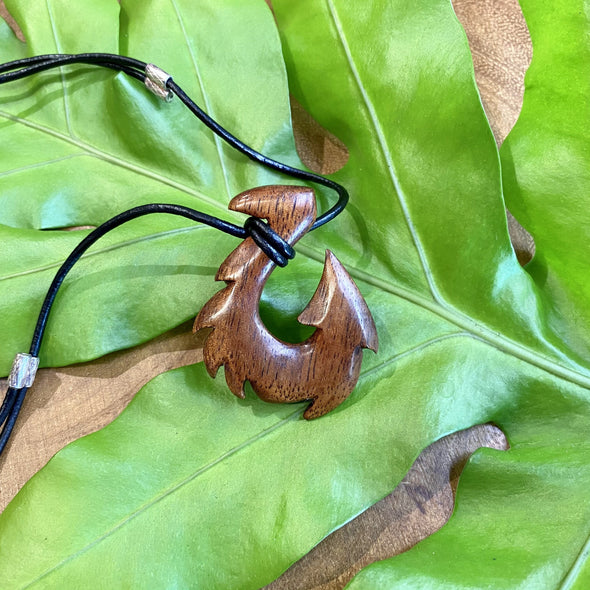 Koa Wood Maui Fish Hook