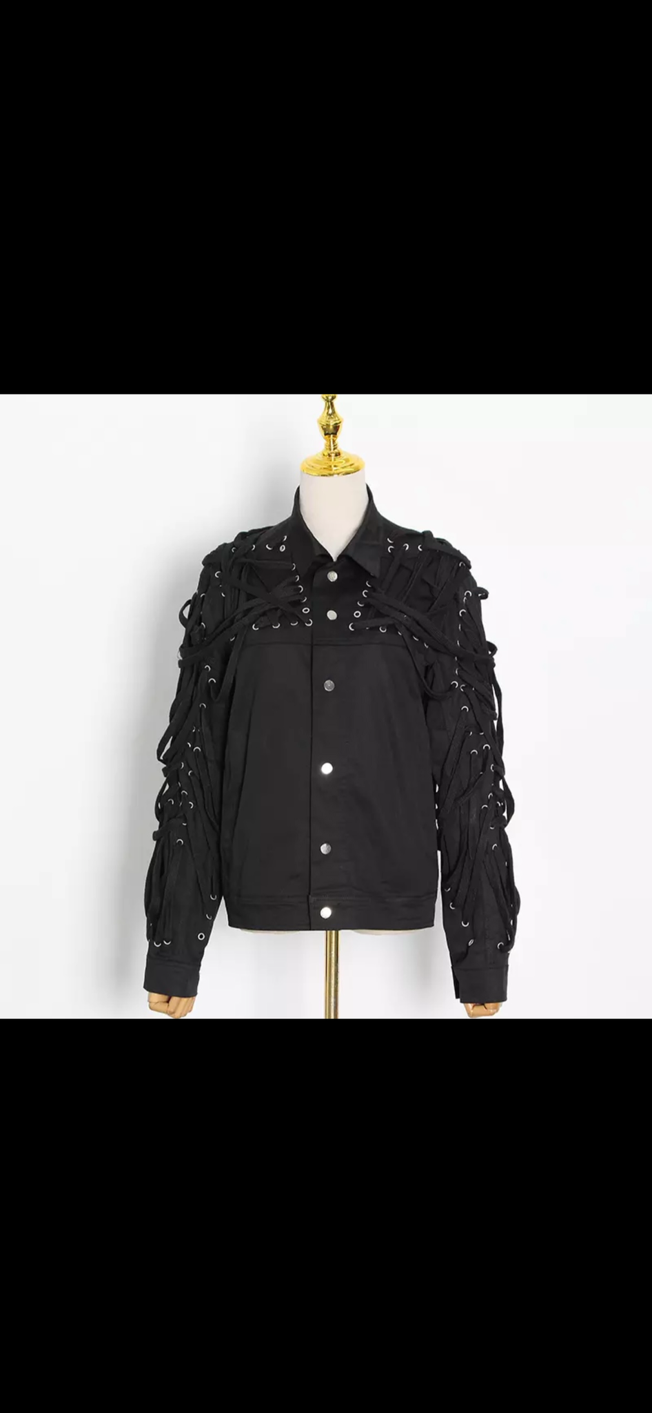 LACE ME UP Jacket / Outerwear
