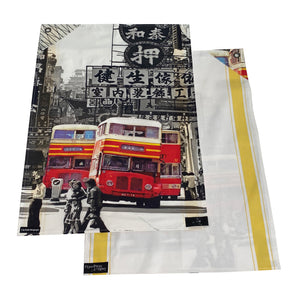 Bus and Ding Ding Tea Towel Set