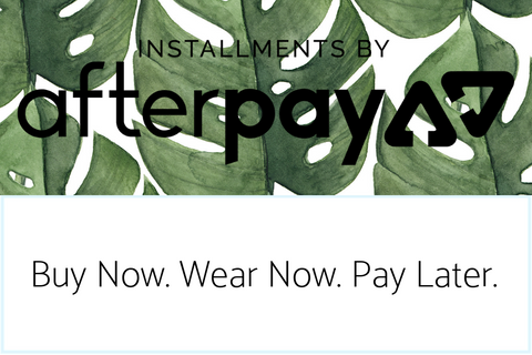 Installments by Afterpay Available at The Capsule Boutique