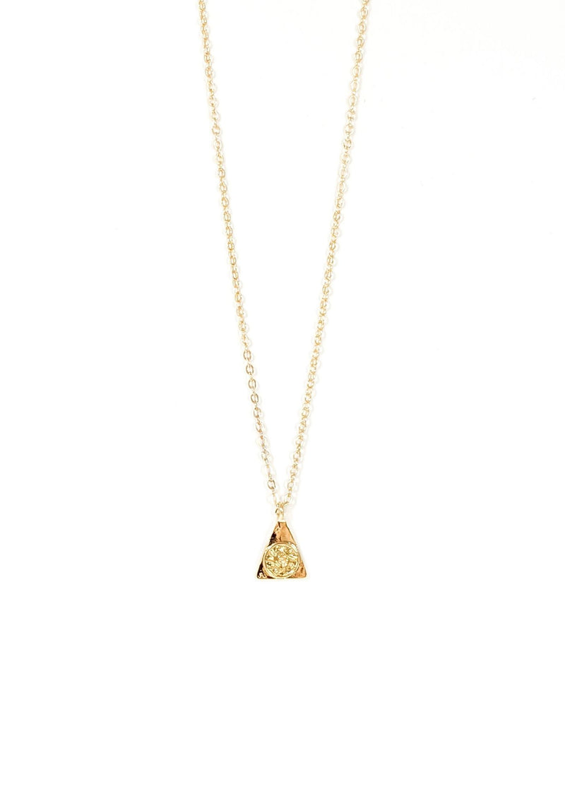 Marcy Gold Necklace
