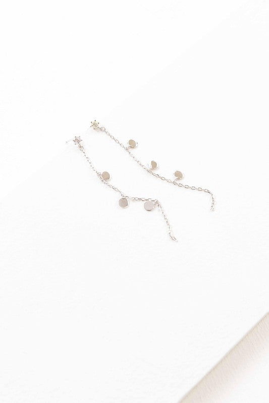 Dainty Chain Earrings
