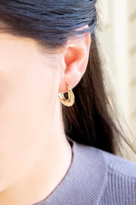 Classic in Nature Small Hoop Earrings