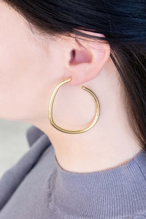 La mode Hoop Earrings