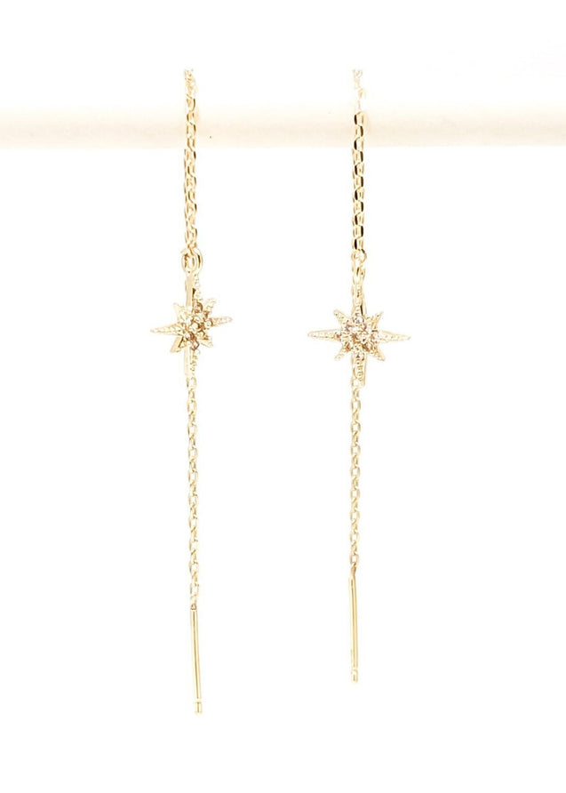Debbi Threader Earrings