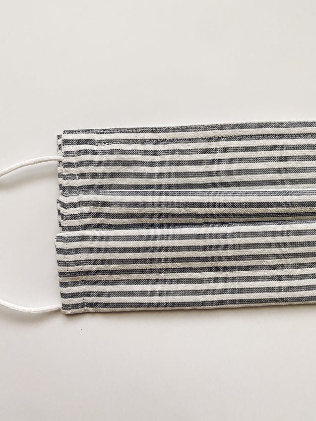 Striped Reusable 4 Layer Face Mask