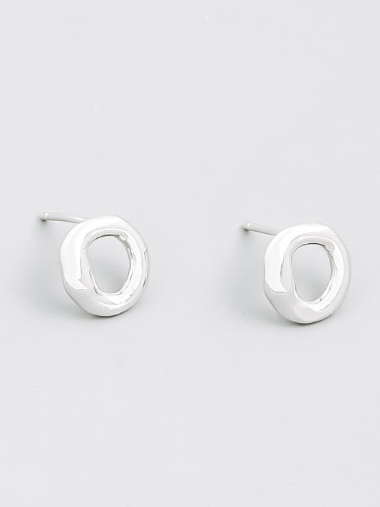 Dana Circle Stud Earrings