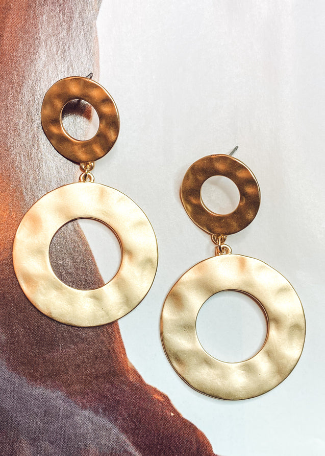 Nadine Circle Earrings