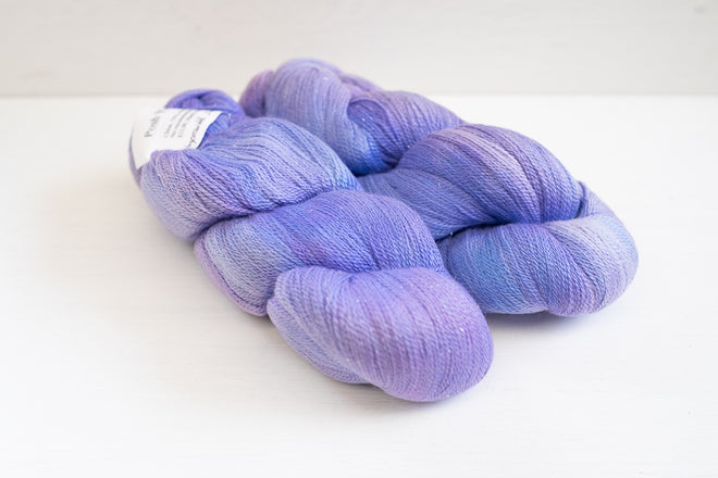 destash lace yarn