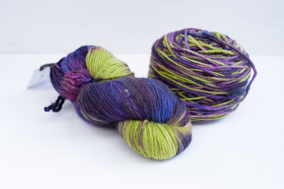 malabrigo yarn worsted - hummingbird