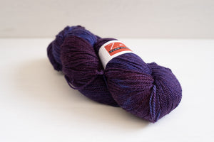 zen yarn gardens serenity silk sock - wonderland blue