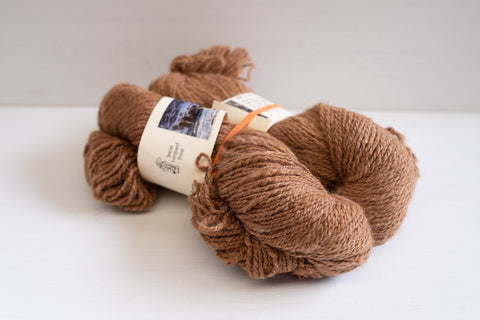 snow leopard trust worsted mongolian camel - natural