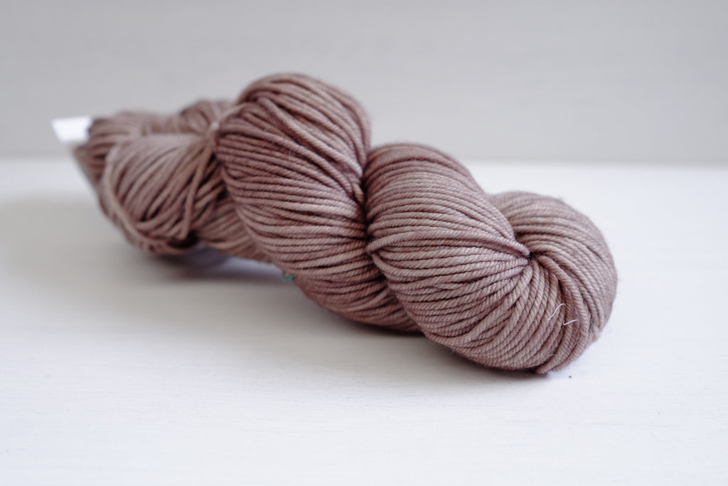 madelinetosh vintage worsted - french grey