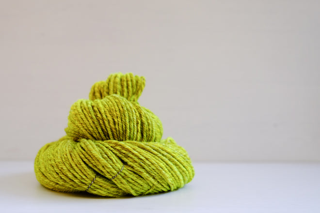 handspun worsted/aran yarn