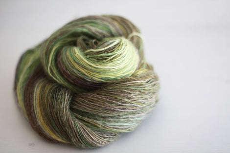 handspun lace yarn