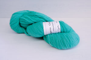 yarn chef buttercream lace - fake jade
