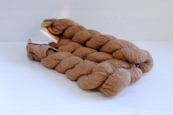 cascade yarns alpaca lace - brown