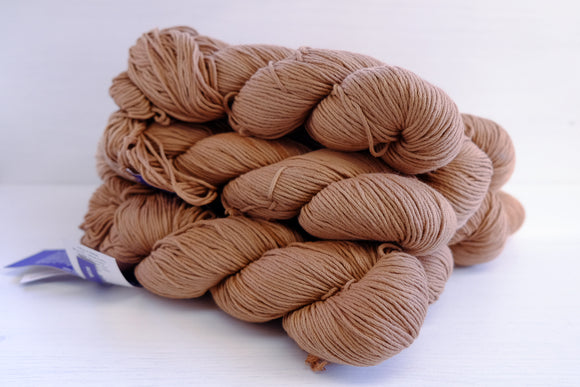 malabrigo yarn cotton worsted - vicuna