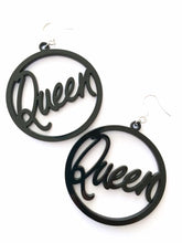 "Feeling Regal? Large ""Queen"" Hypoallergenic surgical steel hook earrings"