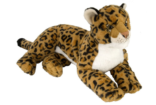 Wild Republic Laying Leopard Stuffed Animal - 16