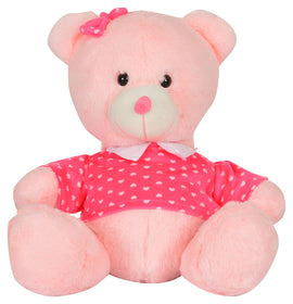 Mirada Cuddly Plush 33cm Sitting Teddy Bear
