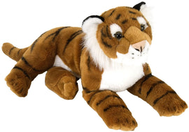 Wild Republic Laying Cuddlekins Tiger 12 inch Plush