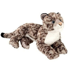 Wild Republic Laying Snow Leopard - 12""