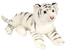 Wild Republic Laying White Tiger - 16""