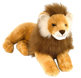 Wild Republic Laying Male Lion - 16""