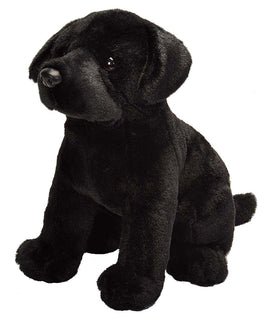 Wild Republic Sitting Lab Black - 12""