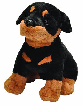 Wild Republic Sitting Rottweiler - 12""