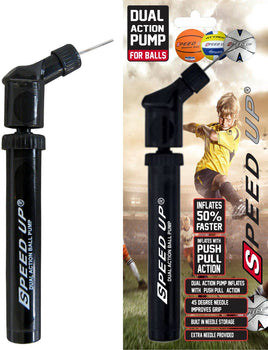 Speed Up Dual Action Pump For Balls