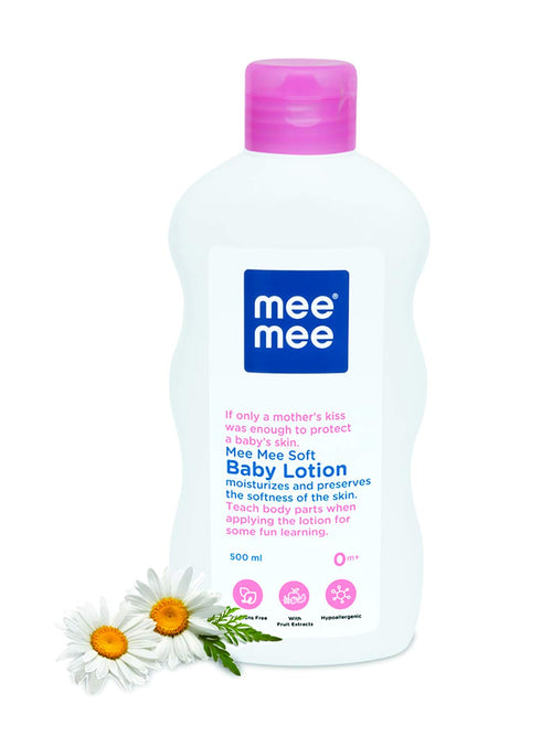SOFT MOISTURIZING BABY LOTION WITH FRUIT EXTRACTS 500ML