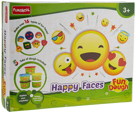 Fun Dough Happy Faces