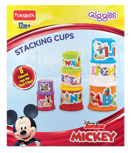 Giggle Stacking Cups Disney Alphabets