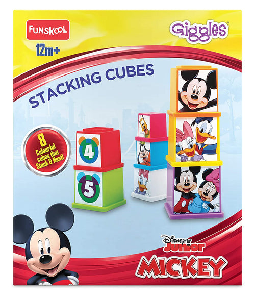 Giggle Stacking Cups Disney Numbers