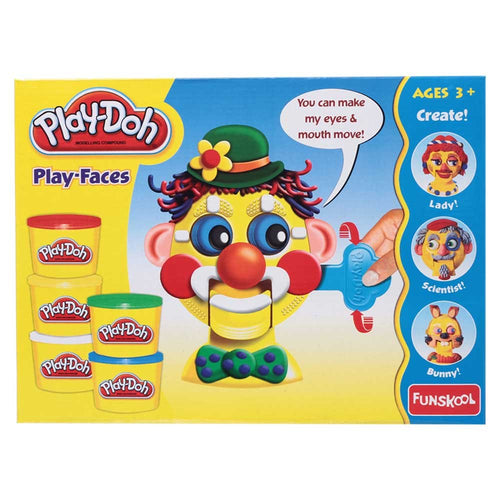 Play Doh Play Faces