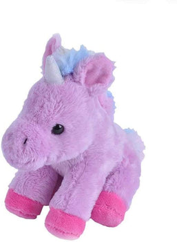 Wild Republic Lavender Unicorn Stuffed Animal- 5""