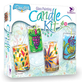 GLASS PAINTING CANDLE KIT