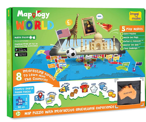 Mapology World Augmented Reality