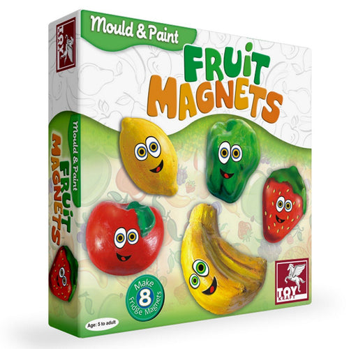 Mould & Paint Fruit Magnets