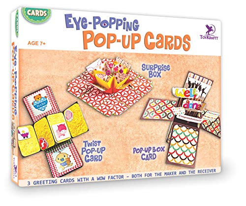 Toykraft Eye Popping Pop Up Cards