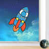 Fleximos Window Art Rocket
