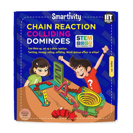 Smartivity Chain Reaction Colliding Dominoes