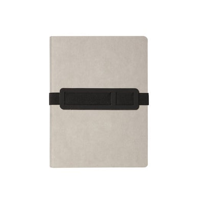 NUUNA - VOYAGER NOTEBOOK - DOT GRID - LARGE - GREY - Grierson Studio