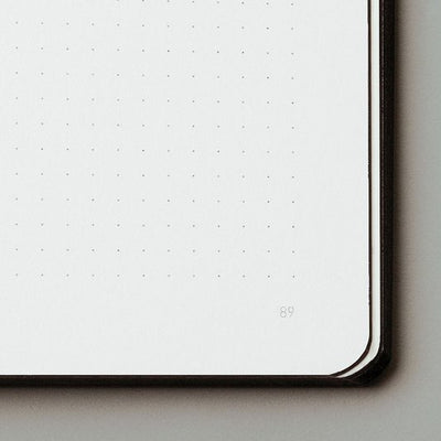 Copy of NUUNA - VOYAGER NOTEBOOK - DOT GRID - MEDIUM - GREY - Grierson Studio