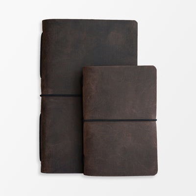 Pioneer Large Journal - Chocolate - Grierson Studio