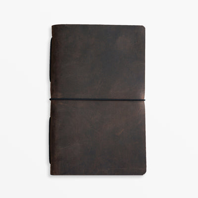 Pioneer Pocket Journal - Chocolate - Grierson Studio