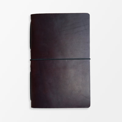 Pioneer Pocket Journal - Horween Burgundy - Grierson Studio